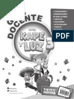 Guia Docente LOS-KAPE-Y-LUZ-3er Grado - Planificaciones y Mas