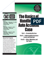 MoBarCLE the Basics of Handling an Auto Accident Case
