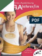 2 Jahres Yogalehrerausbildung  2020