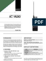 IC R20 Manual