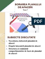 Tema 7 Elaborarea Planului de afaceri (1).pptx