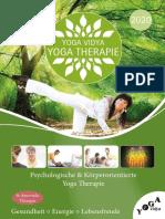 Yoga Therapie Yoga Vidya 2020