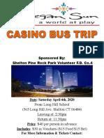 Pine Rock Casino Bus Trip