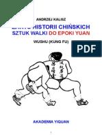 Zarys historii chińskich sztuk walki