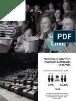 Informe FECE Salas de cine 2019 Datos y cifras