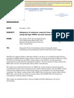 Jenkins 120701 Dry HEPA Inadequate WTC