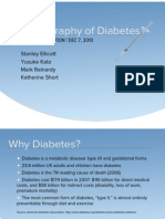 Demography of Diabetes
