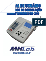 Analisador de Coagulação manual kl 340