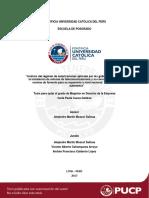 Análisis del régimen de autorizaciones aplicado por los gobiernos locales para instalacion de antenas Tesis Catolica
