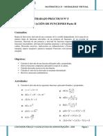 TP 5 Derivación de  Funciones Parte II