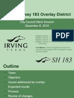 183 Status Report - 12-8-10