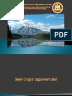 Curs semiologia tegumentului