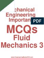 Mechanical Engineering Important Fluid Mechanic 3