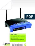 Linksys Wireless G Speed Booster Router