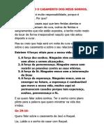 CONSTRUINDO O CASAMENTO DOS MEUS SONHO 2