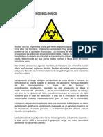 GRUPOS DE RIESGOS BIOLOGICOS- By Andres Chamorro