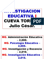 1.- INVESTIGACION EDUCATIVA I.ppt