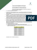 Ejercicios CEP - Gestión de la Calidad en la Industria Química