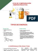 ELEMENTOS DE COMPENSACIÓN DE ENERGÍA REACTIVA