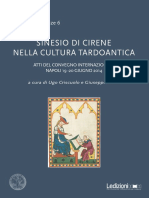 Sinesio di Cirene nella cultura tardo-antica