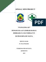 PROPOSAL MINI PROJECT BINAMU KOTA_Irwan