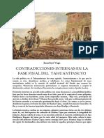 Juan José Vega - Contradicciones en el Tahuantinsuyo