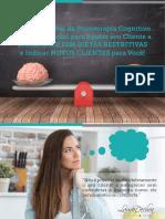 E-book - 12 Intervenções da Psicoterapia Cognitivo Comportamental para ajudar o seu cliente a emagrecer