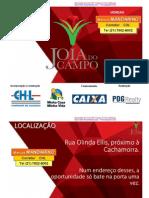 Jóia do Campo-CAMPO GRANDE/RJ - Rua Olinda Elis - Centro - MINHA CASA MINHA VIDA -CHL / CAIXA- Mandarino - (21) 7602-8002