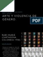 Arte y Violencia de Genero