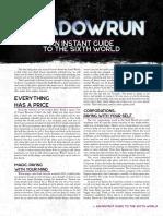 Shadowrun 6E - Beginner Box - Instant Guide