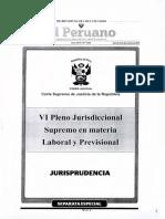 PLENO JURISDICCIONAL SUPREMO EN MATERIA LABORAL