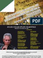 PRIMER ENCUENTRO NACIONAL DE INVESTIGADORES DE MÚSICA VALLENATA