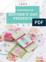10 Handmade Mothers Day Presents FREE eBook