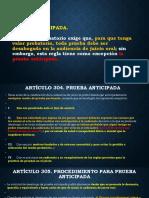 5 bis PRUEBA ANTICIPADA Y SISTEMA DE AUDIENCIAS. MARZO 14-18