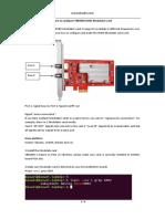 How to Configure TBS6004 DVBC Modulator Card