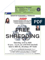 Free Shredding