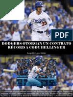 Leopoldo Lares Sultán - Dodgers Otorgan Un Contrato Récord a Cody Bellinger