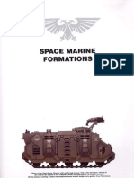 Space Marine Formations