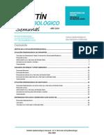 Boletin Epidemiologico Semanal SE-9-1