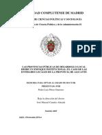 LAS PROVINCIAS PÚBLICAS DE DESARROLLO LOCAL