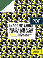 Informe Anual Amnistía Internacional Capitulo Ampliado Sobre Uruguay 2019