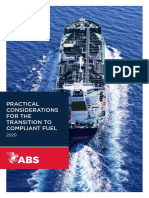 ABS Practical Considerations for the Transition to 2020 Compliant Fuel