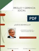 DESARROLLO Y GERENCIA SOCIAL
