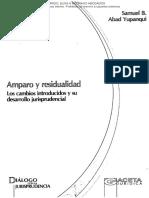 ABAD YUPANQUI - Amparo y Residualidad.pdf