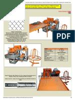 MANEK - maquina para fabricar cercado eslabonado _ malla ciclonica _ malla de simple torcion.pdf