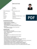 CV  modelo