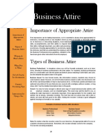 05 F14 - Guide - Business Attire