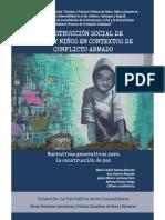 Construcción social de niñas y niños en contextos de conflicto armado