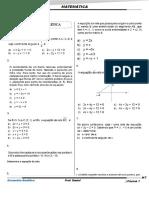 Lista de Revisão(Geometria analitica2018)