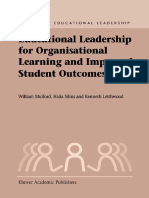 Educational Leadership for Organisational Learning and Improved Student Outcomes (Studies in Educational Leadership) by Bill Mulford, Halia Silins, K.A. Leithwood (z-lib.org) 2.pdf